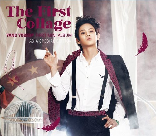 ヤン・ヨソプ(BEAST) 1st Mini Album - The First Collage (CD + DVD) (台湾独占盤)