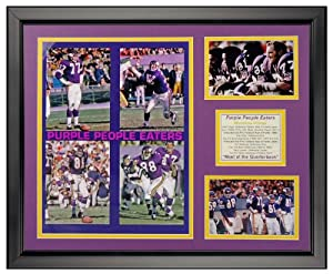Art of Hollywood, Minnesota Vikings Framed Photo Presentation - 18 x 22 Inch Size by Art of Hollywood