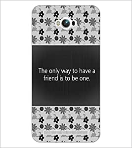 PrintDhaba Quote D-4682 Back Case Cover for ASUS ZENFONE MAX ZC550KL (Multi-Coloured)
