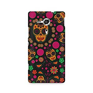 Mobicture Premium Printed Back Case Cover With Full protection For Sony Xperia XP M35H