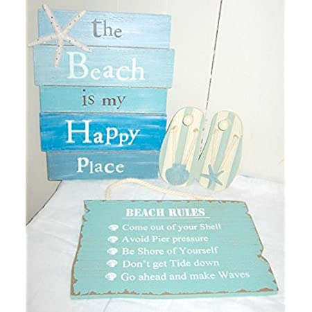 51QmPV-0INL._SS450_ 100+ Wooden Beach Signs and Wooden Coastal Signs