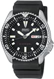 Seiko Men's SKX173 Automatic Dive Urethane Strap Watch