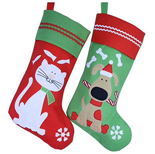 wewill-lovely-embroidered-pets-pattern-christmas-stockings-dog-or-cat-16-inch-length-cat