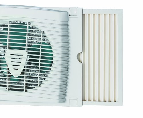 Holmes Window Fan : Holmes hawf dual blade twin window fan with thermostat