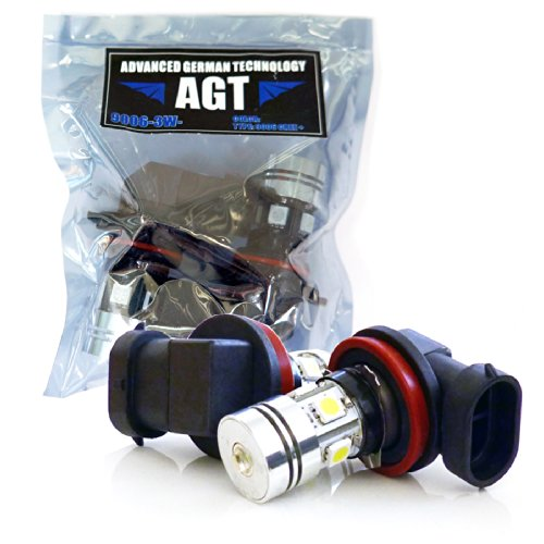Agt 9006 Hb4 Led Bulbs Pair Replacement Fog Light Bulbs Cree 3W + 5Smd