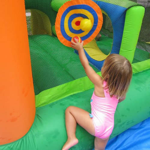 KidWise Endless Fun 11 in 1 Inflatable Bouncer and Water Slide