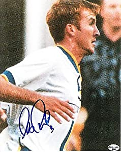 Leo Cullen Signed 8x10 Soccer Photo SL Authentic Fusion Revolution Rapids