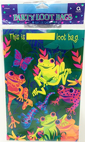 Frogs And Friends LOOT BAG - 8/Pkg - 1