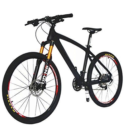 BEIOU® Carbon Fiber Mountain Bike Hardtail MTB 10.65 kg SHIMANO M610 ...