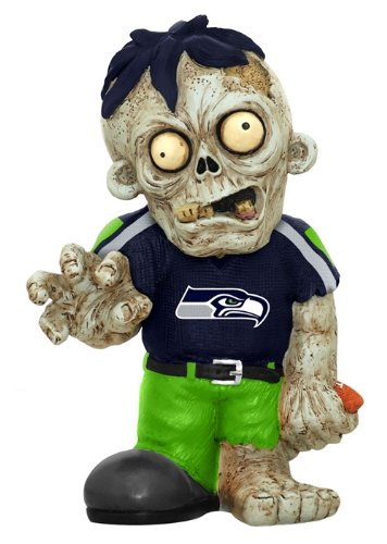 Seattle Seahawks Zombie Figurine at Amazon.com