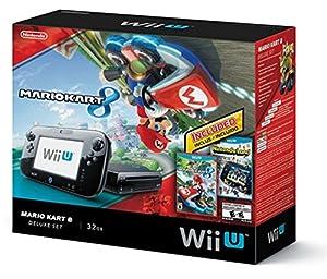 Wii U Exclusive Mario Kart 8 & Nintendoland 32GB Deluxe bundle by Nintendo