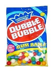 Dubble Bubble Gumballs Refill 150g Bag
