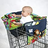 BuggyBagg Shopping Cart Cover - Single Pattern: Jungle