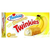 【海外直送】Hostess Twinkies, ホステストゥインキーズ バナナ味 380g [並行輸入品]