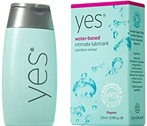 Yes Yes Yes Organic Water Based Intimate Lubrication 25ml