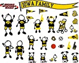 NCAA Iowa Hawkeyes Decal Family