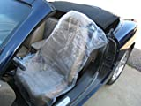 Disposable Plastic Auto Seat Covers - 3ply - Roll of 250