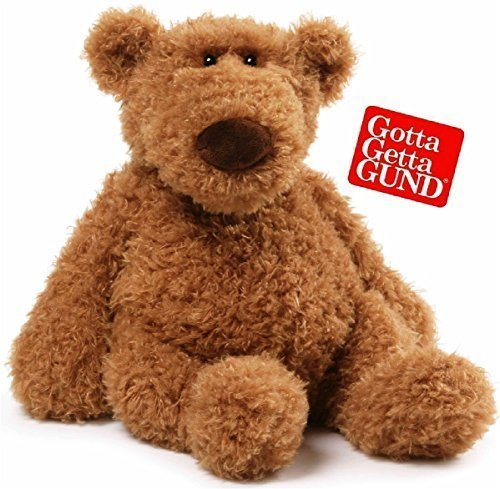 Gund-Schlep-Brown-Teddy-Bear-Stuffed-Animal-Plush-14-inches