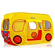 Dimple Big Yellow Bus Children's Pop Up Play tent