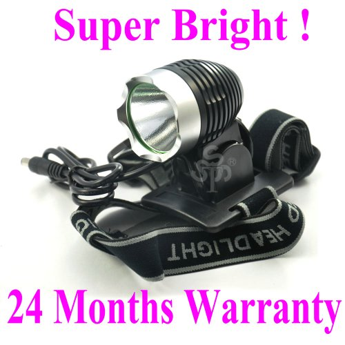 Tsss® With Improved Battery Pack,Waterproof Cree T6 Led 4-Mode Rechargable Bicycle Light Headlight,24 Months Warranty