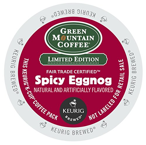 Green Mountain Coffee Spicy Eggnog K-Cups 24ct Seasonal - Limited Time Only (Gingerbread Coffee K Cup compare prices)