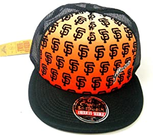 San Francisco Giants American Needle RERUN Limited Edition Mesh Back Snapback Cap by American Needle