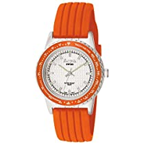 Activa By Invicta Mens SV006-003Generation Collection Orange Rubber Strap Watch