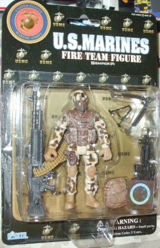 U.S. Marines Fire Team Action Figure