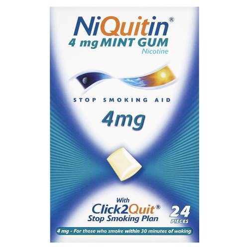 Niquitin CQ Chewing Gum Mint 4mg - 24 Pieces