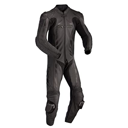 Ixon - Pulsar Full Combinaison Cuir Homme Noir - Taille : 2Xl