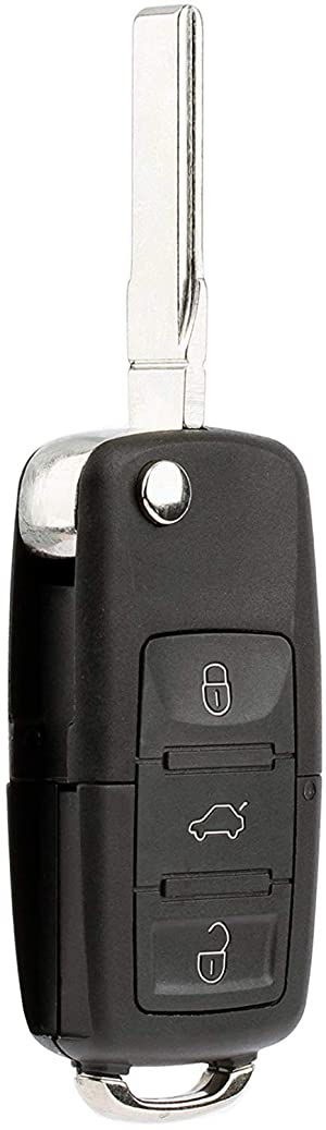 Pack of 2 KeylessOption Keyless Entry Remote Control Uncut Car Key Fob Replacement for OHT692427AA KOBDT04A