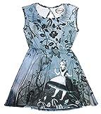 Alice In Wonderland Gothic Art Dress 2XL