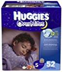Huggies OverNites Diapers, Size 5, Bi...