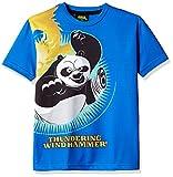 Kung Fu Panda Boys' T-Shirt (KFPTEE003_Royal blue_5 - 6 Years)
