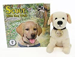 Scout Hits the Trail [With Plush Dog] (Pet Tales) by Soundprints