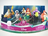 Disney Little Mermaid Figure Set -7pcs Ariel Figurine Playset