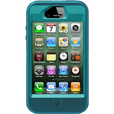 SPINC SP OtterBox Defender Series Case and Holster for iPhone 4/4S  - Retail Packaging - Teal/Blue at Sears.com