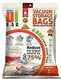 Dibag 6 Vacuum Storage Bags Platzsparer Vakuum Beutel 130 x