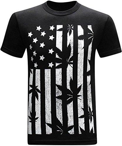 United-States-of-Amarijuana-420-Pot-Weed-Stoner-Marijuana-Mens-Funny-T-Shirt