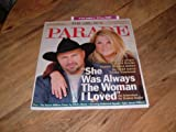 img - for Garth Brooks and Trisha Yearwood-Parade magazine, February 12, 2006-Country singer Garth Brooks waited 18 years befoe he could marry Trisha Yearwood. 