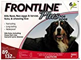 Merial Frontline Plus for Dogs, 89-132 lbs, 6-Pack
