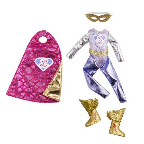 Super Lottie superhero clothes outfit set for Lottie doll