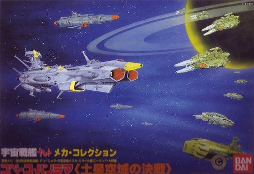 宇宙戦艦ヤマト スペースパノラマ 「土星空域の決戦」