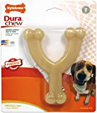 Nylabone Dura Chew Regular Original Flavored Wishbone Dog Chew Toy, Up to 35 LBS