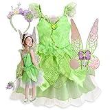 新作 ディズニー Disney Fairies ディズニー フェアリーズ Tinker Bell Costume Tiara 2013 子供 キッズ 衣装 コスチューム ウィング ティアラ 3点セット ティンカーベル 110 120 Sサイズ 4-6歳