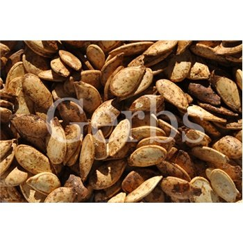 Dry Roasted Pumpkin Seeds Whole In Shell - Onion & Garlic - By Gerbs - 4Lb. Deal. Certified Top 8 Allergen Free - Vegan & Kosher - Country Of Origin Mexico - Made In Rhode Island