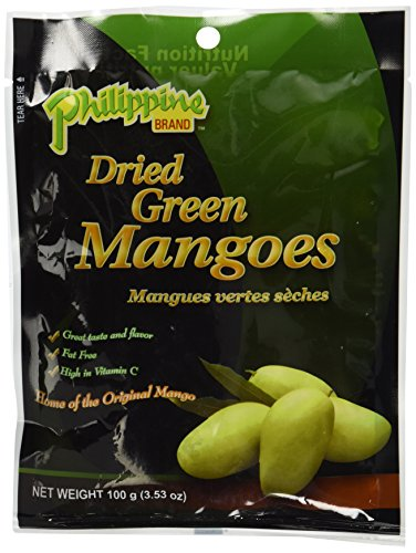 Phillippine Brand Dried Green Mango Fruit (Tart Sweet) - Naturally Dried (Green Mango Fruit compare prices)