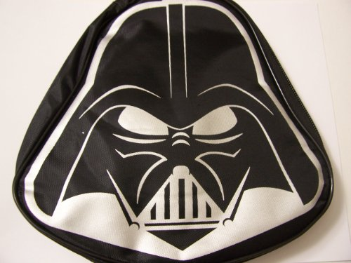 "Star Wars Darth Vader Shaped Fabric Case ~ Feel the Power of the Dark Side (8.5"" x 8.5"" x 2"")"
