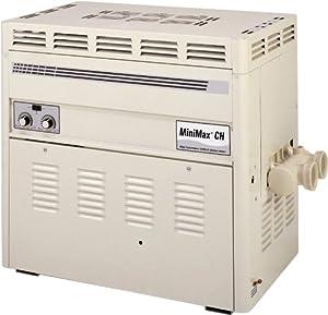 Pentair 460625 MiniMax CH Natural Gas High Performance Millivolt Ignition Heater, 200K BTU, 3000-5999-Feet