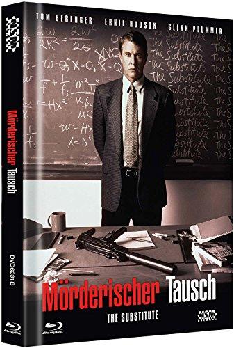 Mörderischer Tausch - The Substitute - Uncut [Blu-Ray+DVD] auf 333 limitiertes Mediabook Cover B
